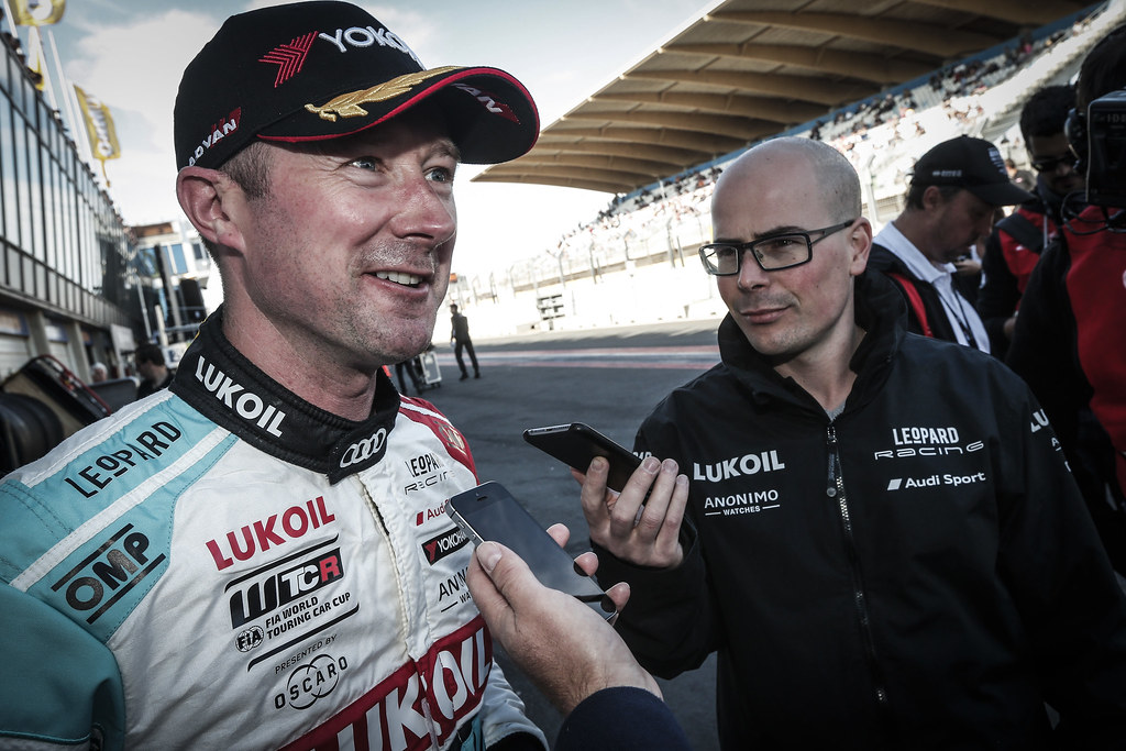 SHEDDEN Gordon, (gbr), Audi RS3 LMS TCR team Audi Sport Leopard Lukoil, portrait during the 2018 FIA WTCR World Touring Car cup of Zandvoort, Netherlands from May 19 to 21 - Photo Jean Michel Le Meur / DPPI