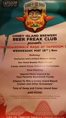 Coney Island Brewery event at Taproom 307