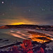 Late night sky from Kangaroo Island, Australia