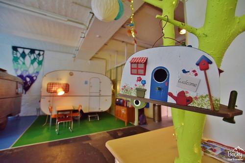 Huttenpalast Hotel Berlin review - my caravan
