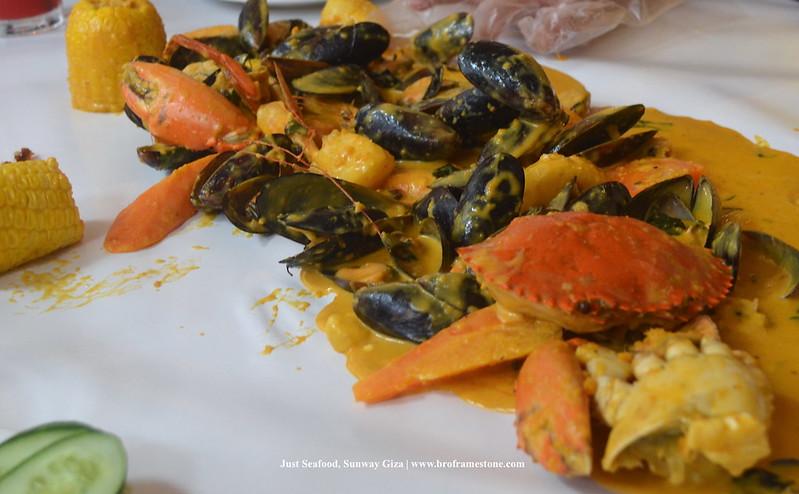 Just Seafood, Sunway Giza