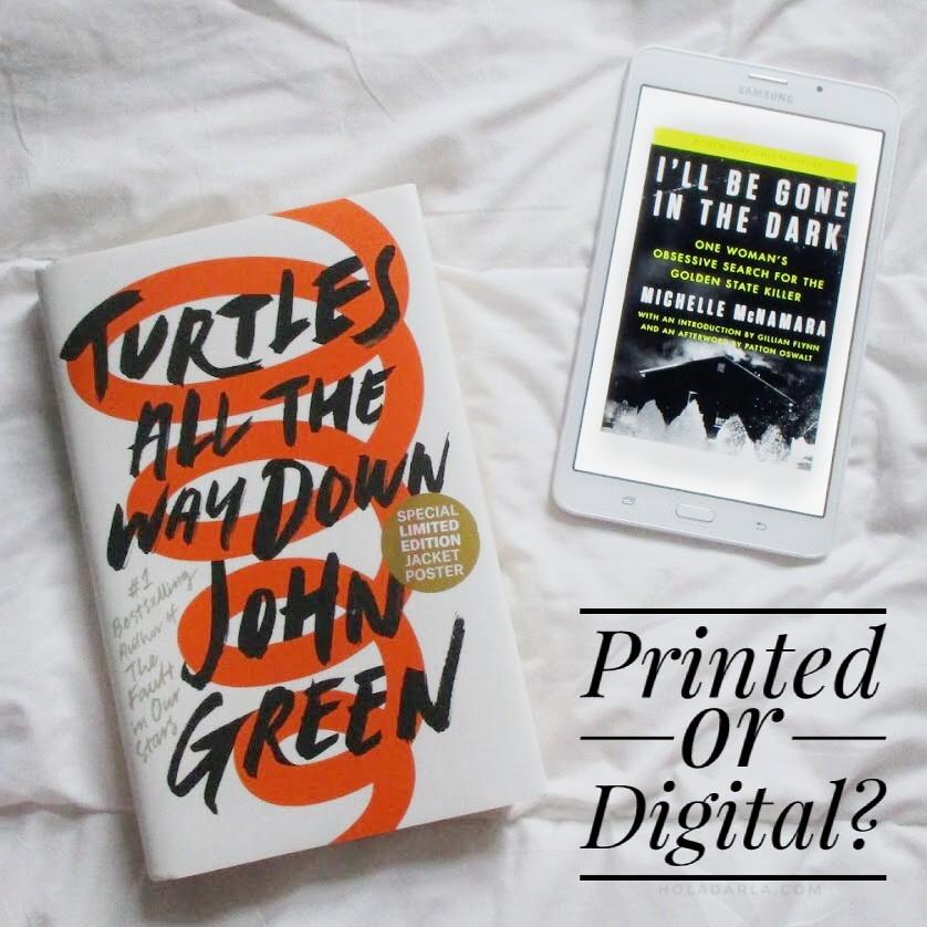 Printed or Digital? | Hola Darla