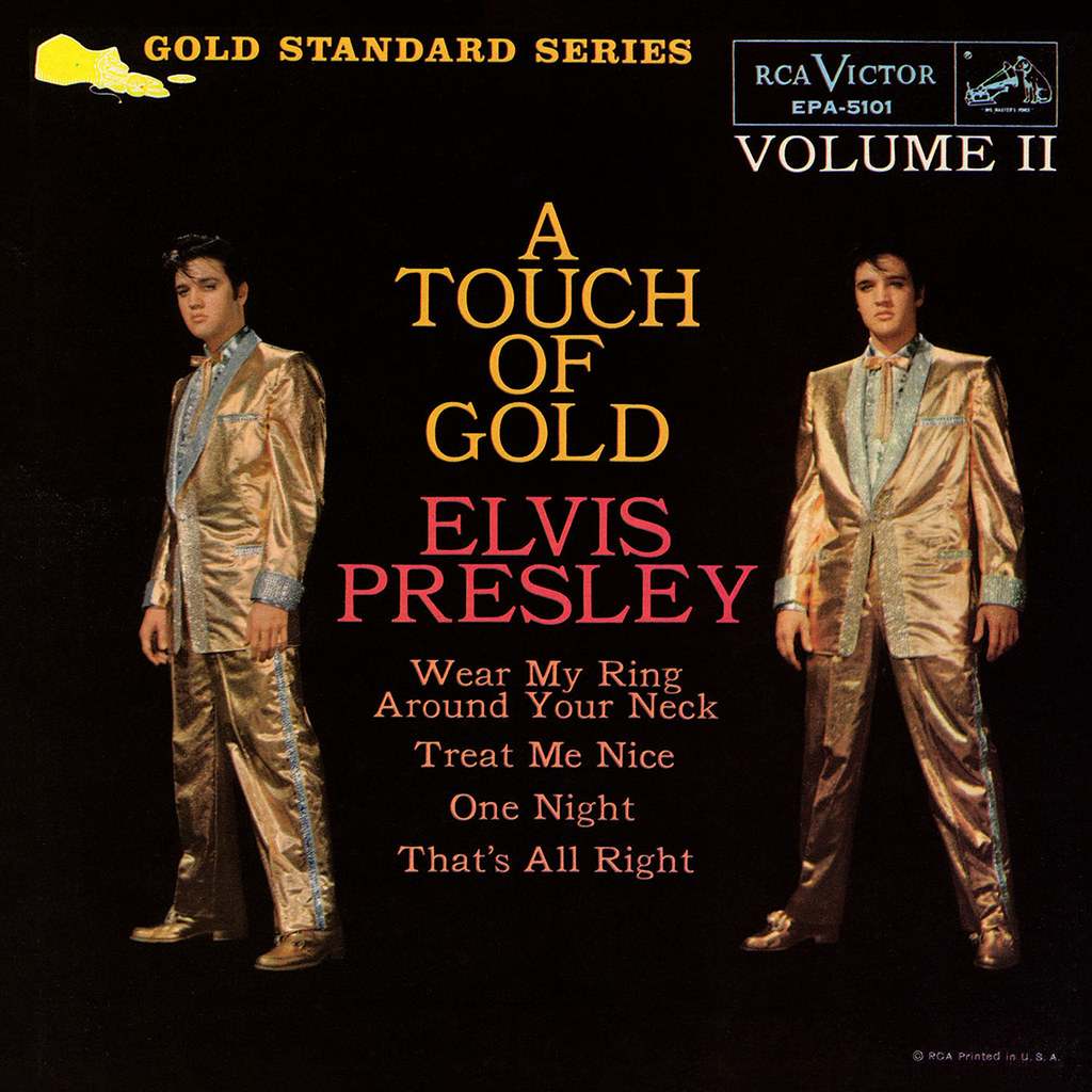 Elvis Presley - A Touch of Gold Volume 2