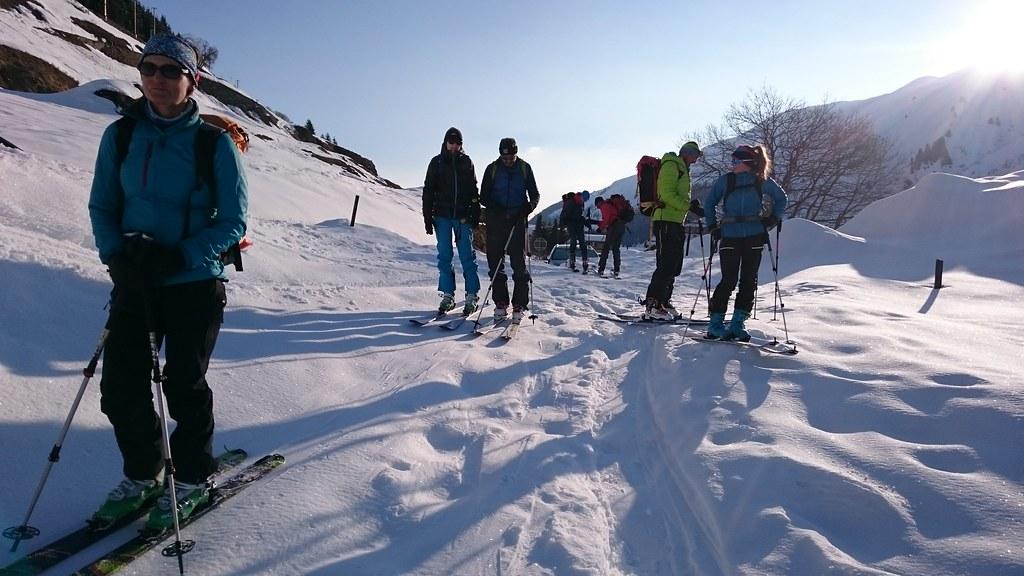 Skitouren März April 2018