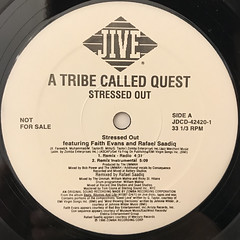 A TRIBE CALLED QUEST:STRESSED OUT(REMIX)(LABEL SIDE-A)