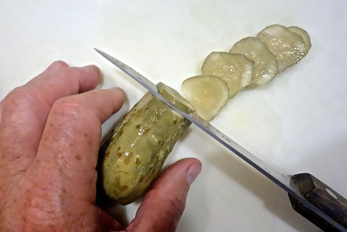 I Am So Grateful That I Did Not Cut a Finger Off While Slicing a Pickle Today
