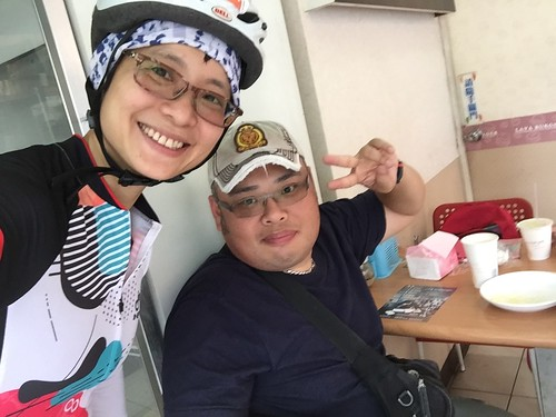 20180513母親節晨騎觀音山
