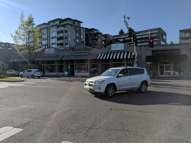 Diary of a Commute Bike: Kirkland Stoplight at Lake WA Blvd