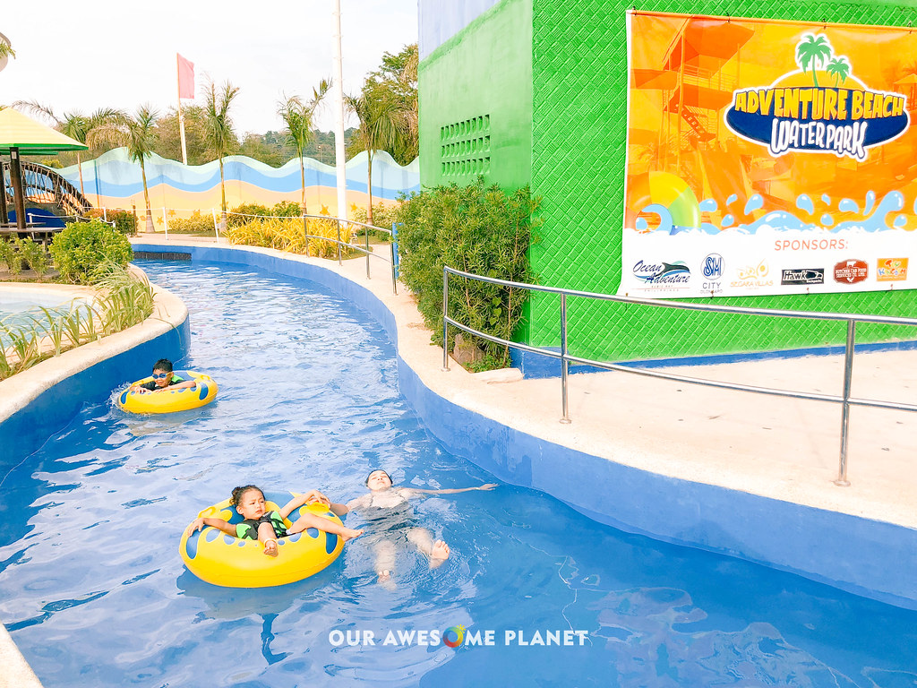 Subic Water Park Hopping Inflatable Island Adventure Beach Aqua Planet Our Awesome Planet