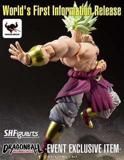 S.H.Figuarts 《七龍珠Z》布羅利 「北美巡迴展配色版本」! Broly -EVENT EXCLUSIVE COLOR EDITION-