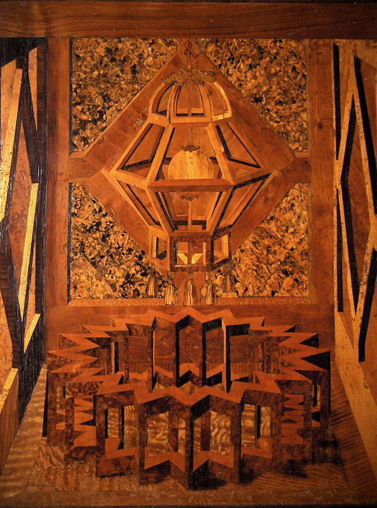Exquisite Rot: Spalted Wood and the Lost Art of Intarsia
