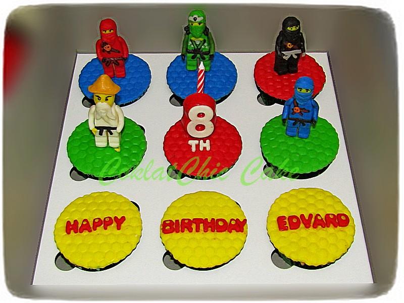 Cupcake set Ninjago