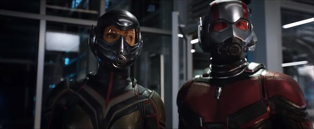 Ant-Man and the Wasp - The Wasp and Ant-Man