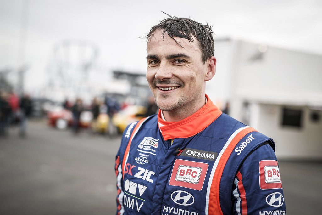 MICHELISZ Norbert (HUN), BRC Racing Team, Hyundai i30 N TCR, portrait during the 2018 FIA WTCR World Touring Car cup of Nurburgring, Germany from May 10 to 12 - Photo Florent Gooden / DPPI