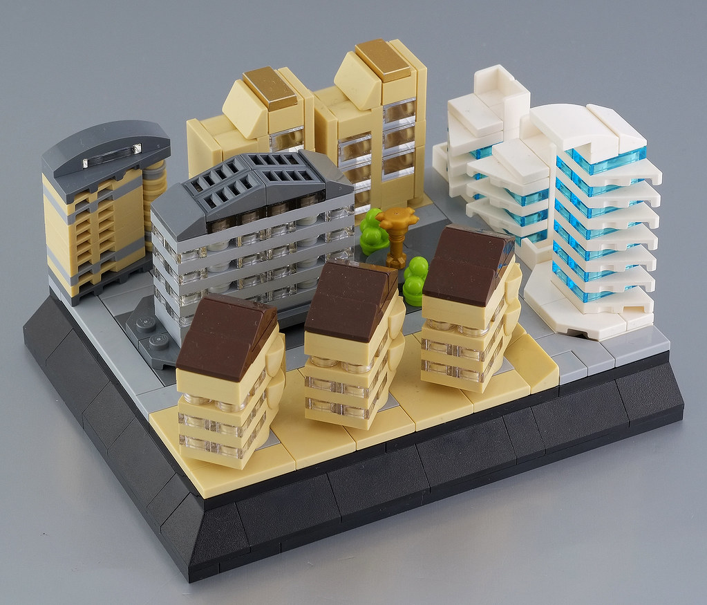 Lego micro city - district 01