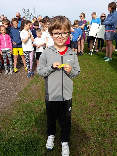 Gedling junior parkrun 13th May 2018