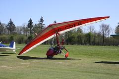 G-CDFR Solar Wings Pegasus [6943] Popham 050518