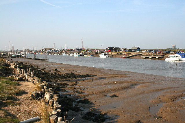 Southwold Harbour from Walberswick