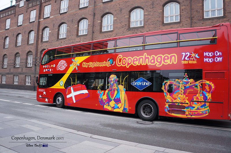 2017 Europe Copenhagen Hop On Hop Off Bus