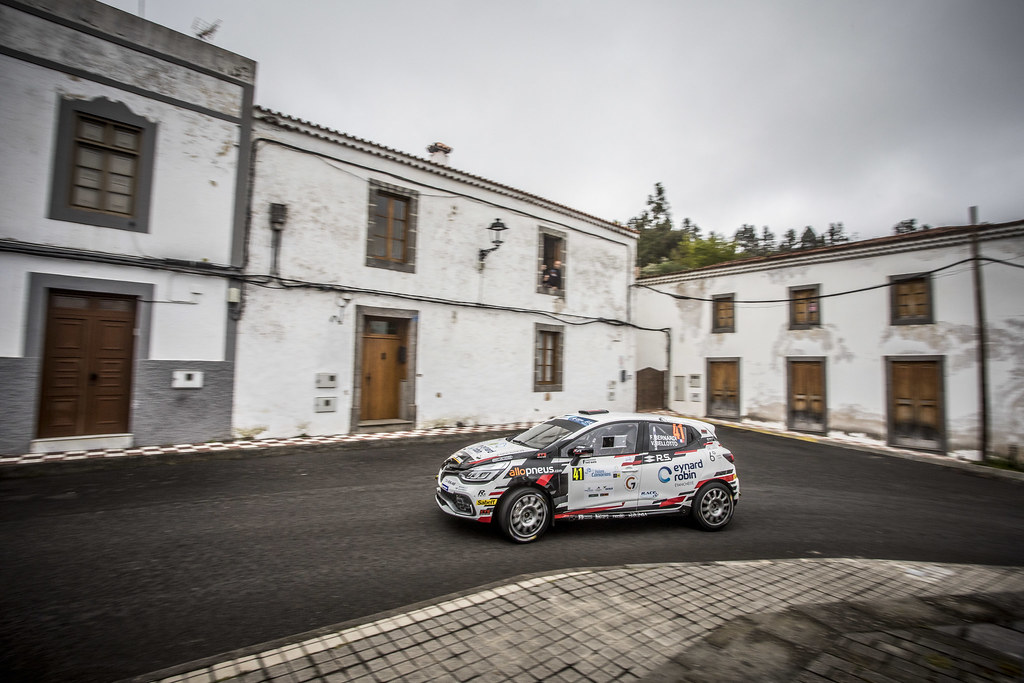 41 BERNARDI Florian, BELLOTTO Victor, Team Bernardi Florian, Renault Clio R.S., action during the 2018 European Rally Championship ERC Rally Islas Canarias, El Corte Inglés,  from May 3 to 5, at Las Palmas, Spain - Photo Gregory Lenormand / DPPI