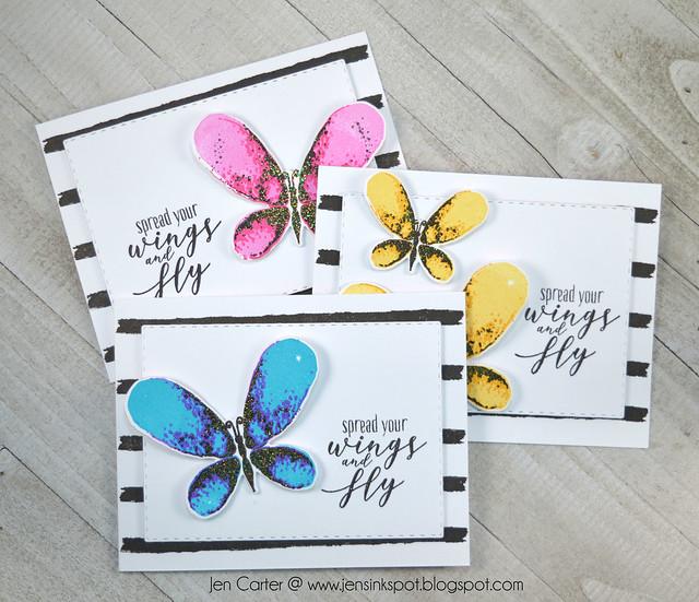 Jen Carter Spread Wings Faithful Flutterings Trio