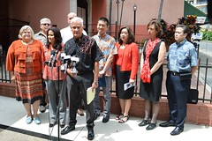 Homelessness Press Conference