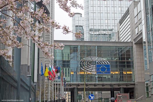 Palazzo Paul-Henri Spaak, sede dell'Emiciclo, quartiere europeo di Bruxelles
