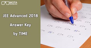 jee advanced answer key by time