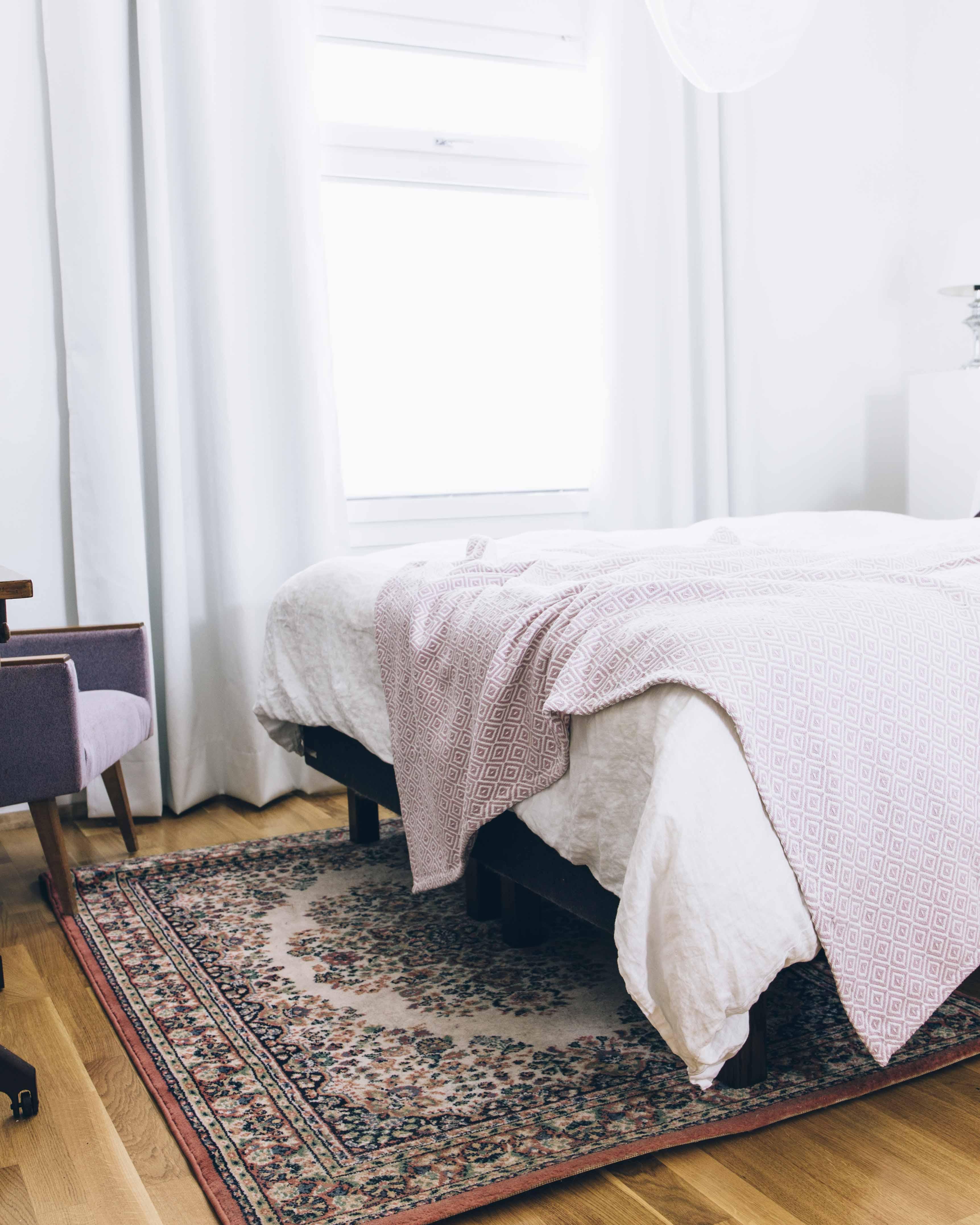 Pinossa uusi matto makuuhuoneessa 20052018 1