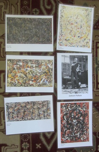 Pollock paintings