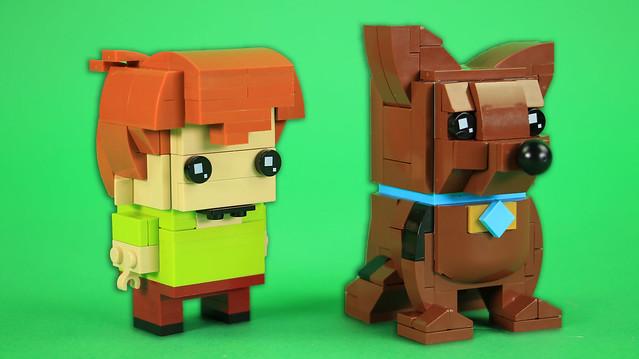 Brickheadz Scooby-Doo and Shaggy