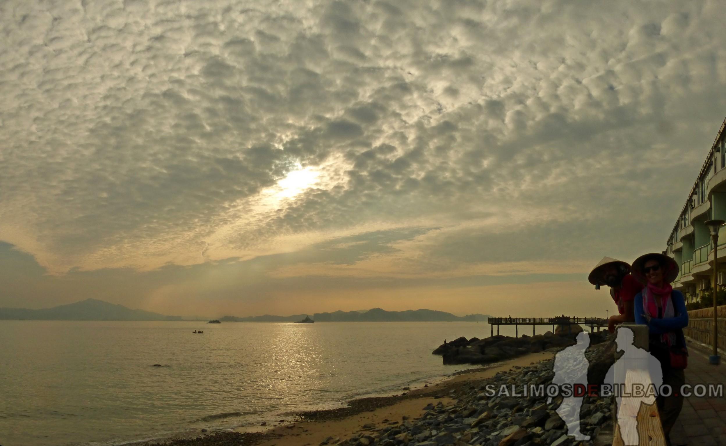 1390. Katz y Saioa, Pano, Xiamen