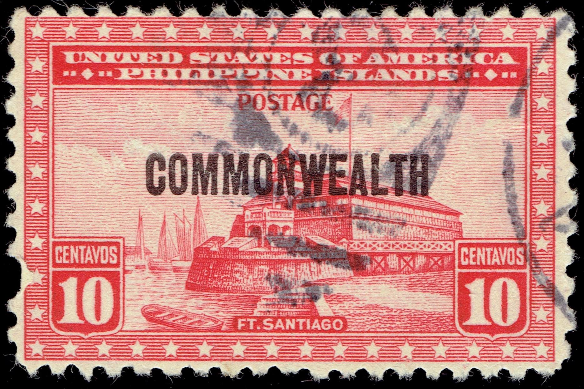 Commonwealth of The Philippines - Scott #415 (1936)