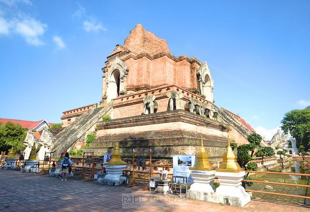 chiang mai itinerary thailand Wat Chedi Luang