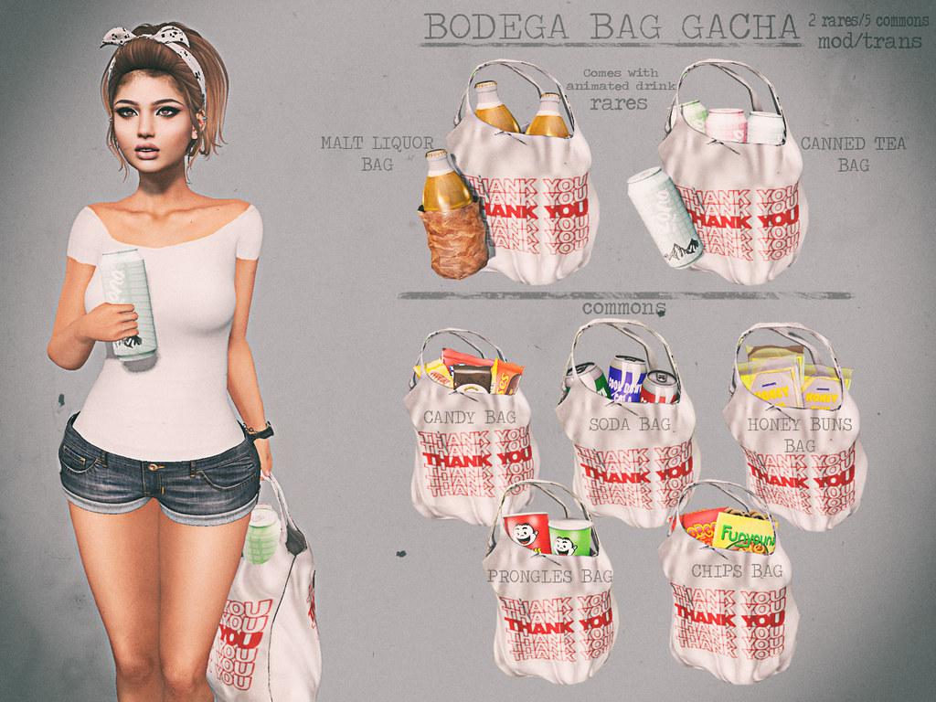 Junk Food - Bodega Bag Gacha - TeleportHub.com Live!