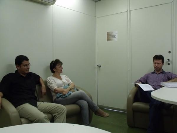SindJustiça tem encontro com Assessoria da Presidência do TJ - 30/11/2011