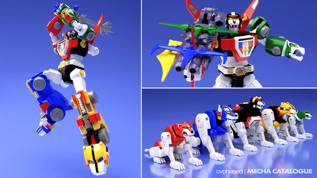 Bandai Candy Online Shop Exclusive - Super Minipla Go Lion / Voltron