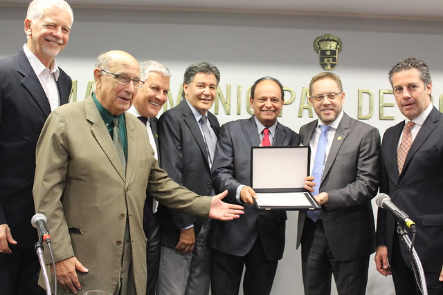 Ato Solene de homenagem aos 100 anos da FGF na Câmara de Vereadores de Porto Alegre