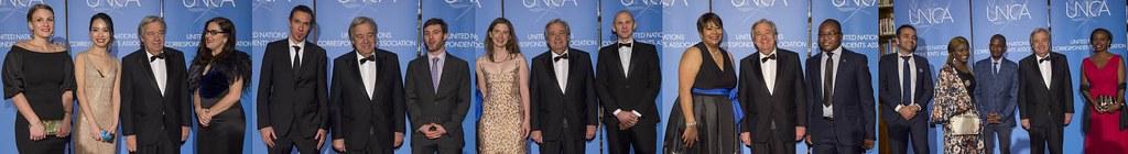 2017 UNCA Award Winners Collage