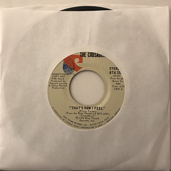 THE CRUSADERS:THAT'S HOW I FEEL(JACKET A)