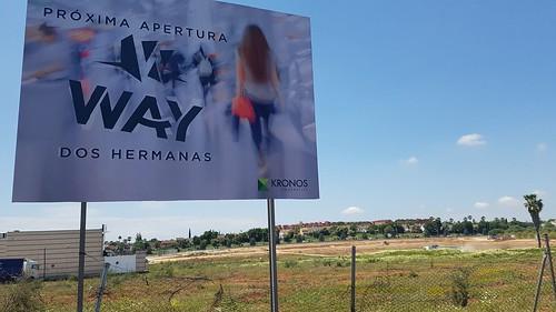 Terrenos del nuevo centro comercial Way