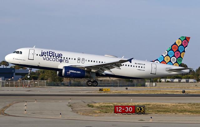 """jetBlue Airbus A320-232 (c/n 2352) N603JB """"To Beach Their Own"""""""