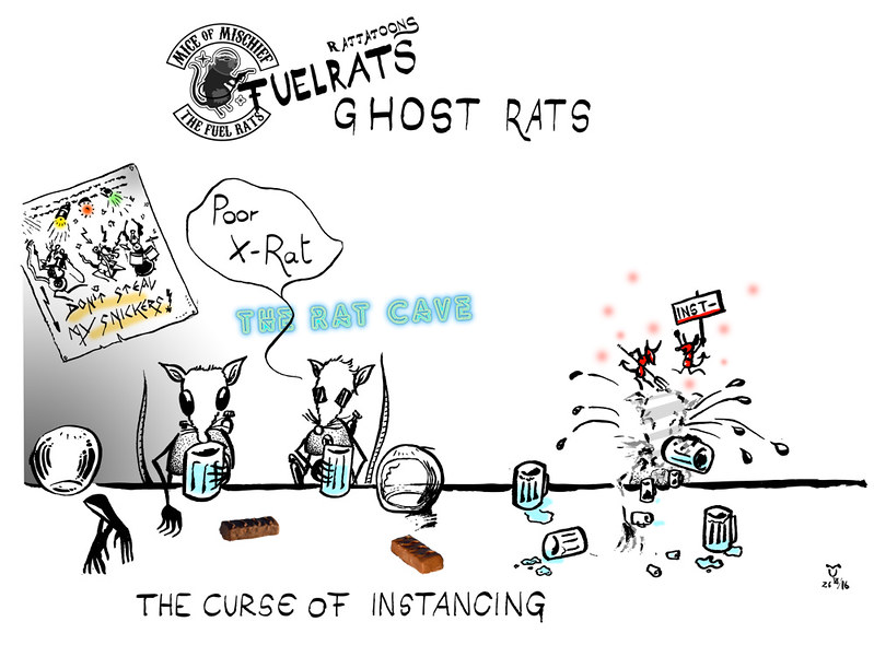 A Fuel Rats Cartoon