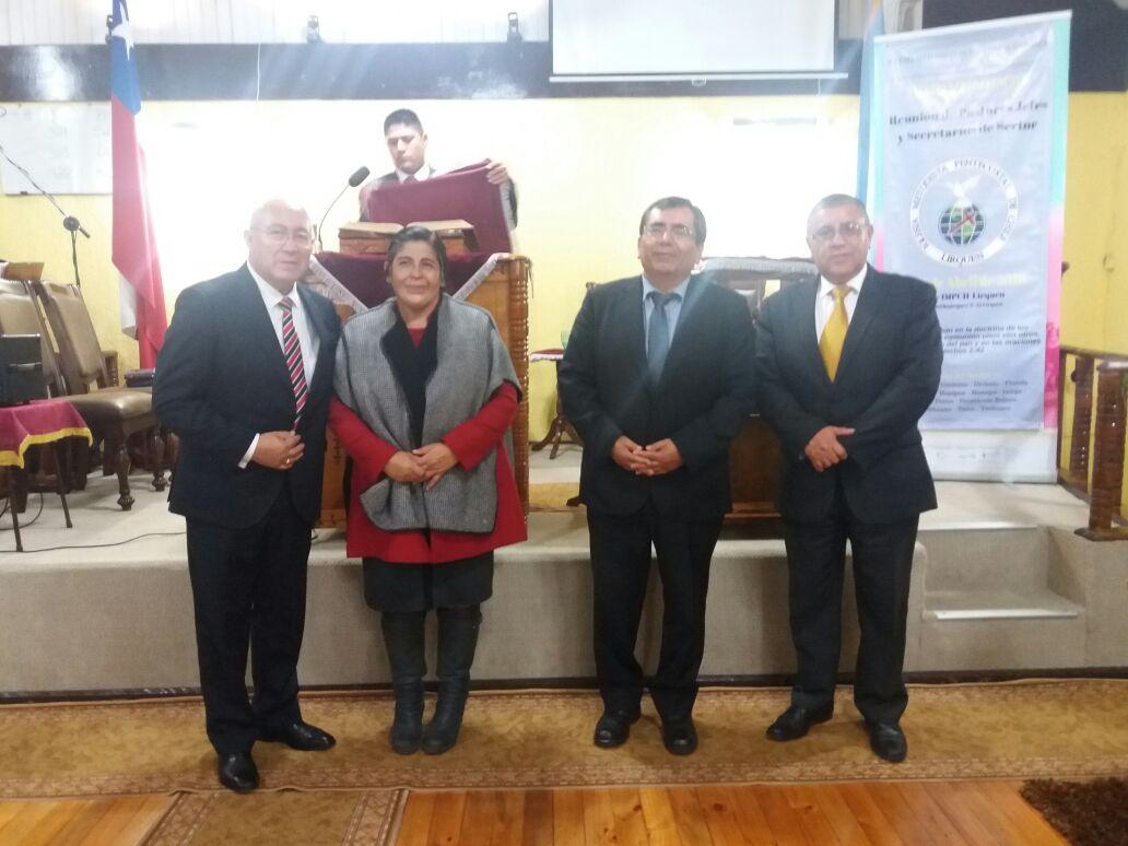 Visitas de bendición para la Iglesia IMPCH Pdte. Bulnes-Hualpén.