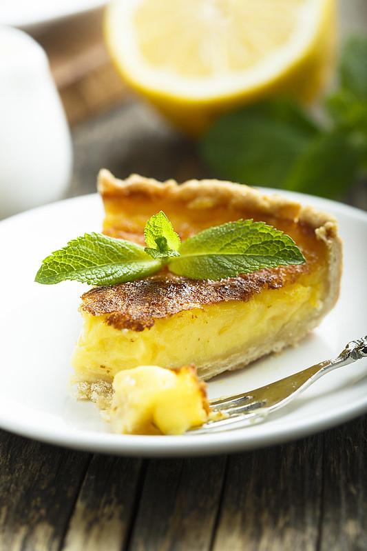 Ничего лишнего: лимонный тарт.