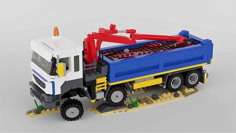 LEGO Truck Renault Kerax Grab Truck