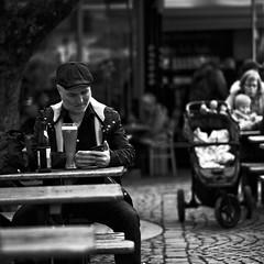 Lunch, Bavaria style. Munich