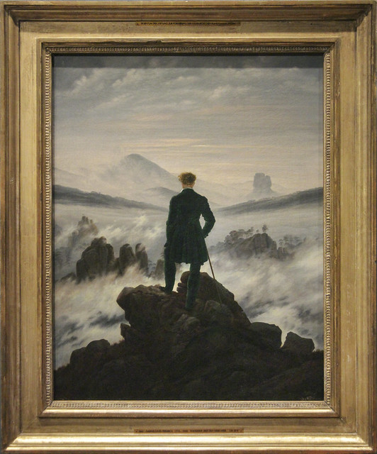 Wanderer above the Sea of Fog, Casper David Friedrich, c.1817