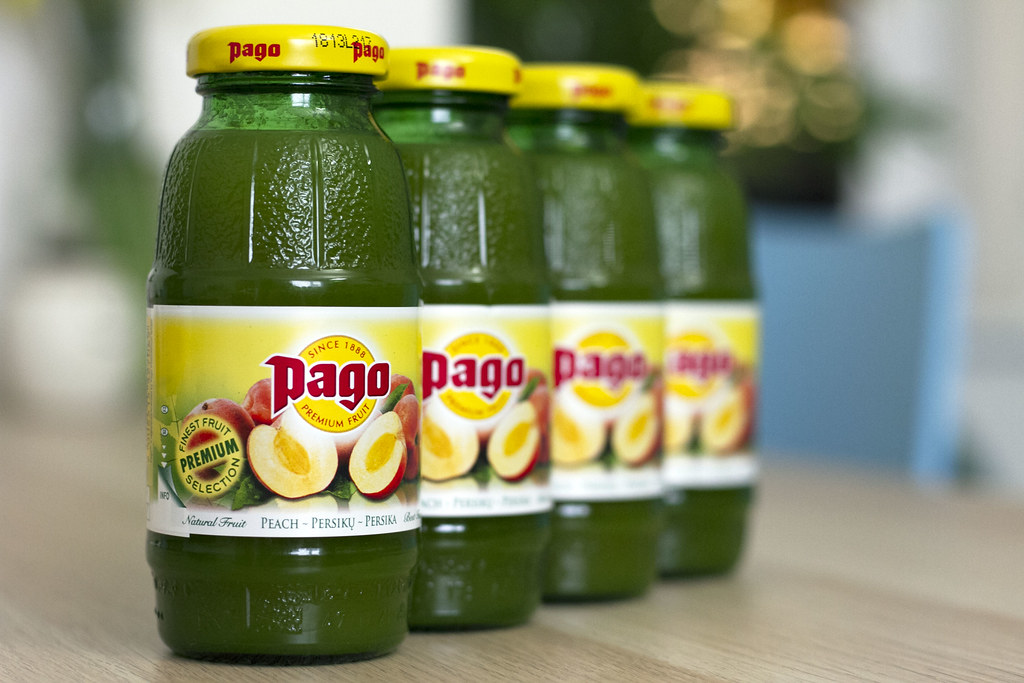 Pago Fruit Juice Peach - Austrian