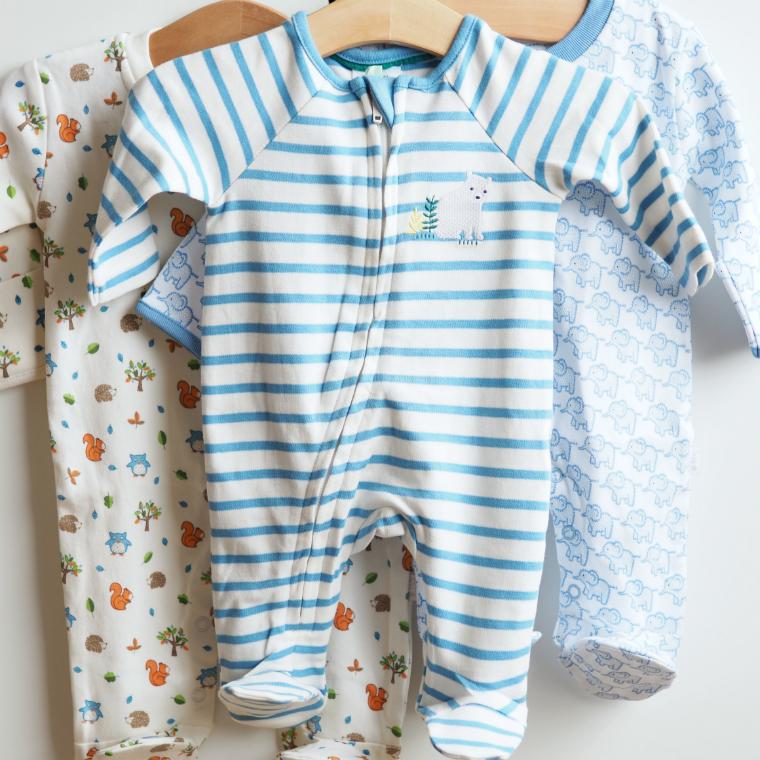 vauvan pyjamat